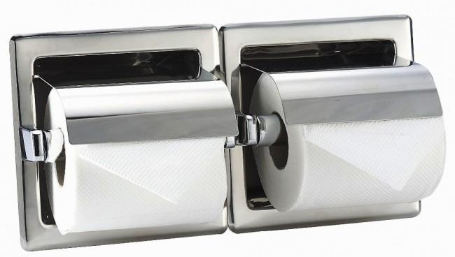 מתקן נייר טואלט אופקי שקוע