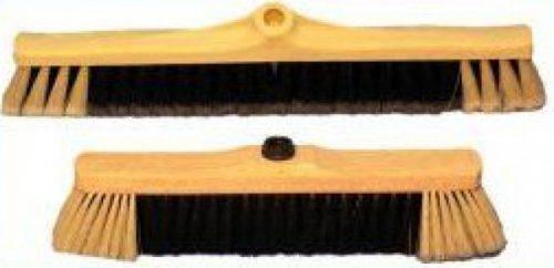 מטאטא שיער ניילון גב פלסטיק