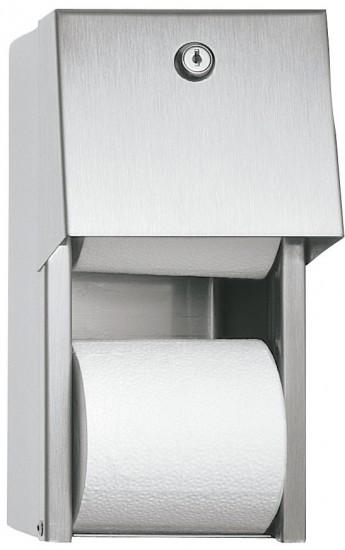 מתקן נייר טואלט כפול