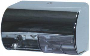 מתקן נייר טואלט אופקי ל-2 גלילים