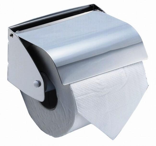 מחזיק נייר טואלט סגור בצד