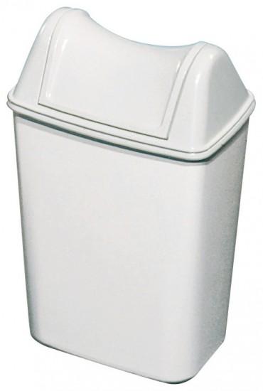 פח 8 ליטר לבן תלוי או מונח