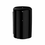 פח אשפה 50 ליטר שחור/לבן