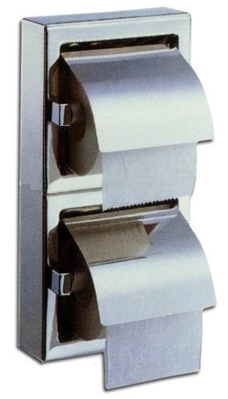 מחזיק נייר טואלט כפול אנכי